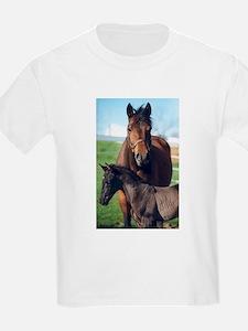 Indigo and Rainier T-Shirt