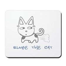 Blame the Cat Mousepad