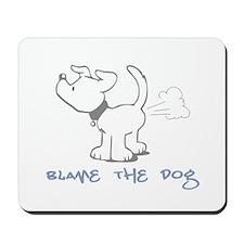 Blame the Dog Mousepad