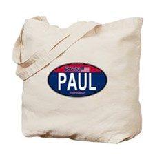 Ron Pual RW&B Oval Tote Bag