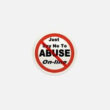 Just Say No Mini Button (10 pack)