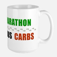 Walk Marathon Eat Carbs Mug