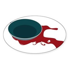 Surgical Frying Pan Oval Decal