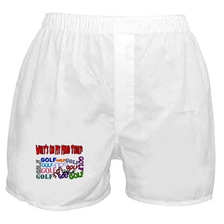 On My Mind Today GOLF Boxer Shorts