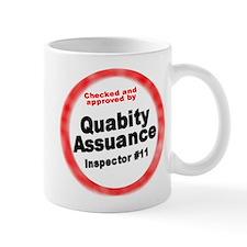 Quabity Assuance   Small Mug