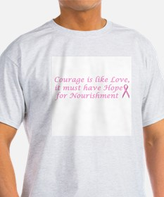 Courage is like Love T-Shirt