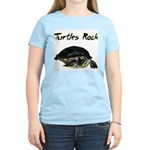 Turtles Rock Women's Pink T-Shirt