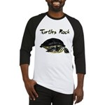 Turtles Rock Baseball Jersey