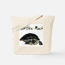Turtles Rock Tote Bag