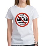 Just Say No Women's T-Shirt