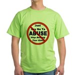 Just Say No Green T-Shirt