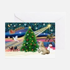 XmasMagic/Lhasa (rx) Greeting Card