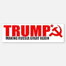 TRUMP RUSSIA Bumper Bumper Bumper Sticker
