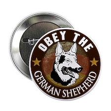"German Shepherd 2.25"" Button"