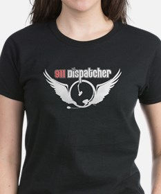 911 Dispatcher Angel Headset Tee