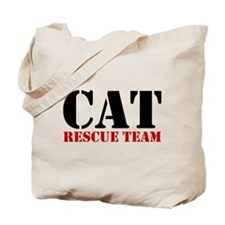 Cat Rescue Team Tote Bag (image both sides)