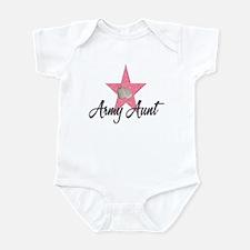 army aunt Infant Bodysuit