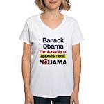 Appeasement Women's V-Neck T-Shirt