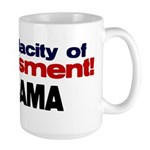 Appeasement Large Mug
