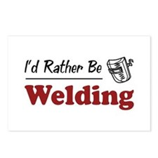 Rather Be Welding Postcards (Package of 8)
