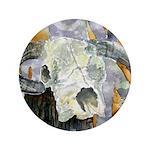 "cow skull skulls cowboy weste 3.5"" Button (100 pac"