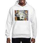 cow skull skulls cowboy weste Hooded Sweatshirt
