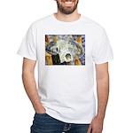 cow skull skulls cowboy weste White T-Shirt