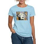 cow skull skulls cowboy weste Women's Light T-Shir