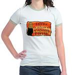 Faith Defend Fantasy Jr Ringer T-Shirt