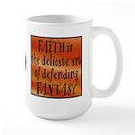 Faith Defend Fantasy Large 15oz Mug