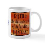 Faith Defend Fantasy Small 11oz Mug