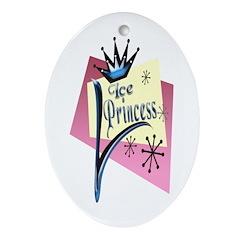 Ice Princess Keepsake (Oval)