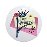 Ice Princess Keepsake (Round)
