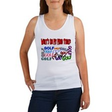 On My Mind Today GOLF Women's Tank Top