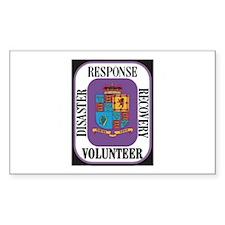 Responder Rectangle Sticker 10 pk)