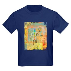 Kids Navy Blue T-Shirt