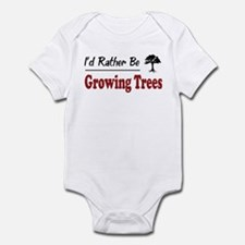 Rather Be Growing Trees Infant Bodysuit