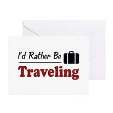 Rather Be Traveling Greeting Cards (Pk of 10)