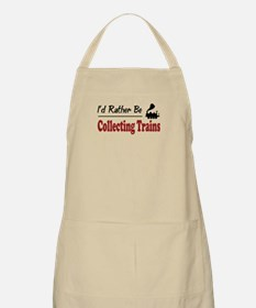Rather Be Collecting Trains BBQ Apron