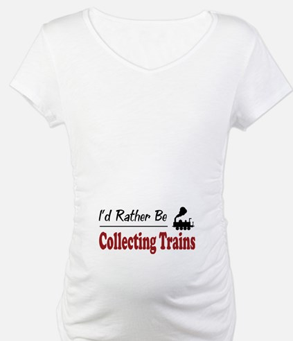 Rather Be Collecting Trains Shirt