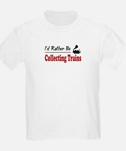 Rather Be Collecting Trains T-Shirt