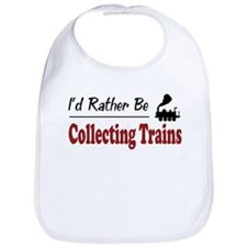 Rather Be Collecting Trains Bib