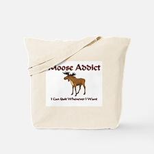 Moose Addict Tote Bag
