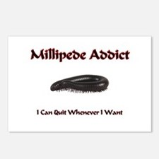 Millipede Addict Postcards (Package of 8)