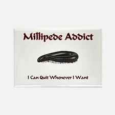 Millipede Addict Rectangle Magnet