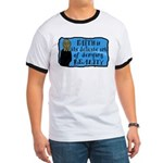 Faith Deny Reality Ringer Tee Shirt