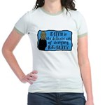 Faith Deny Reality Jr Ringer T-Shirt