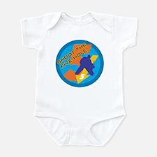 shoot the five hole Infant Bodysuit