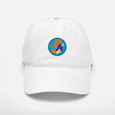 shoot the five hole Baseball Baseball Cap