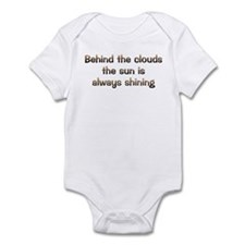 CW Behind Clouds Infant Bodysuit